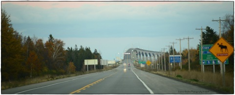 Approaching Confederation Bridge