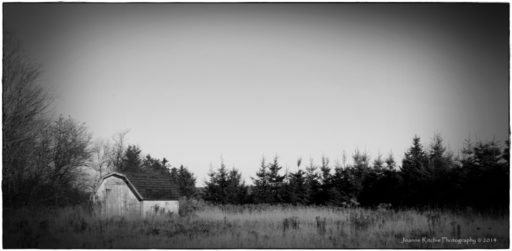 Shed along the way in Prince Edward Island