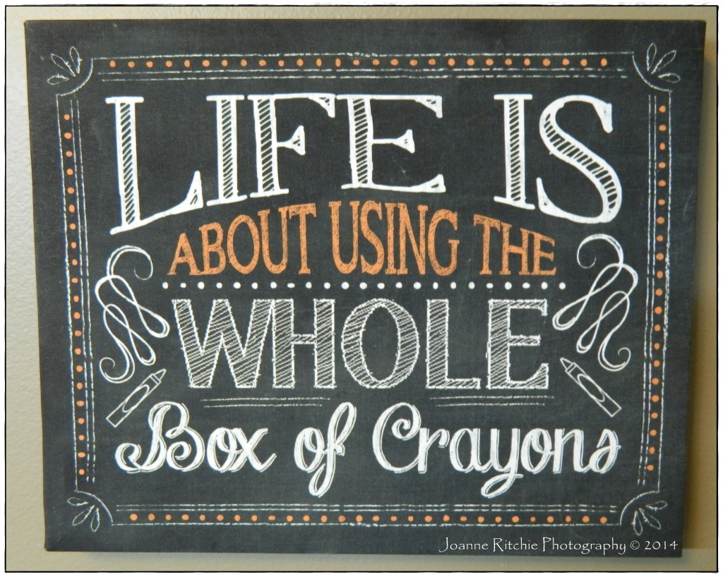 Life is a Box of Crayons!