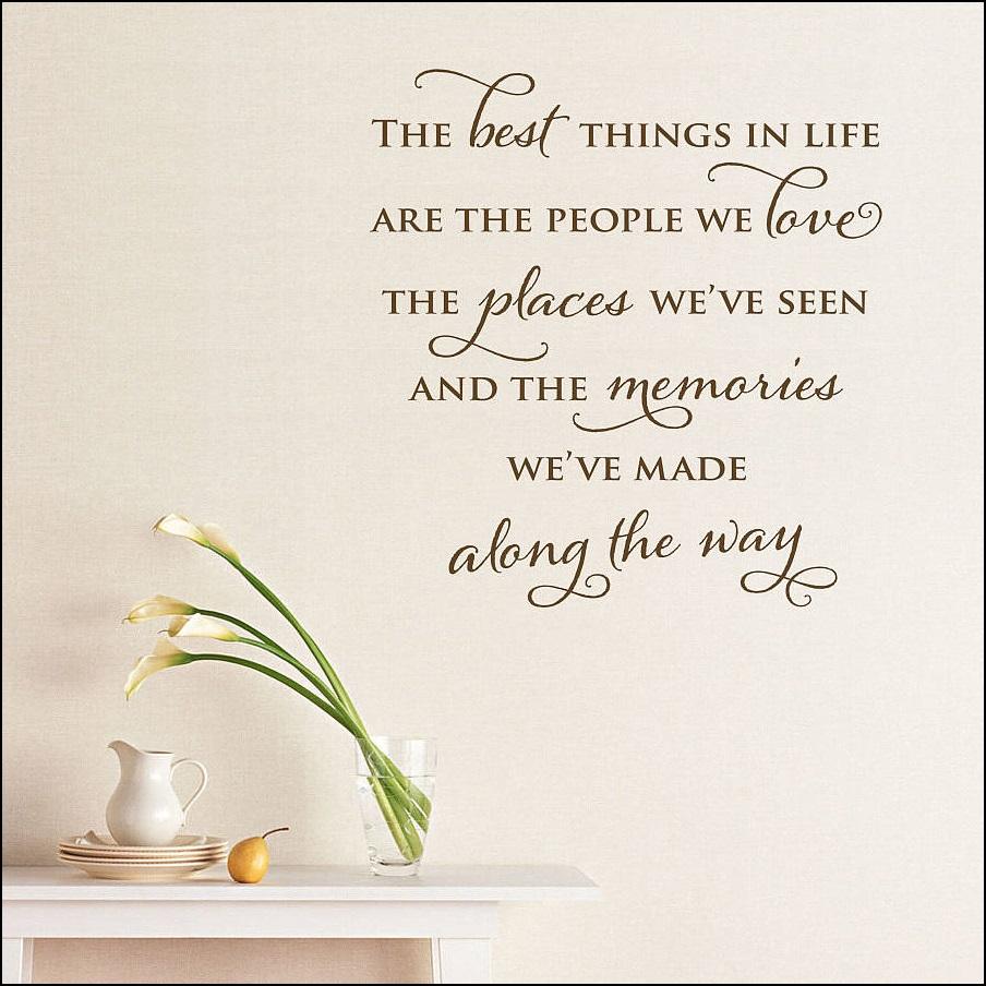 Best things in life...
