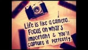 Capturing Life, that's whats important!