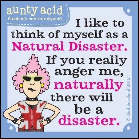 A TRUE Natural Disaster!