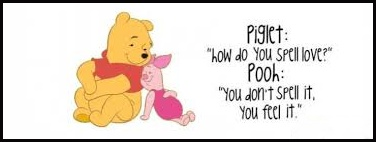 Piglet and Pooh on Love...