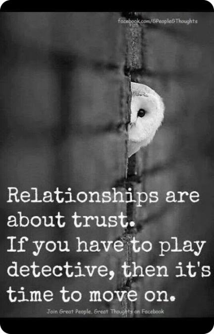 Trust in Relationships...