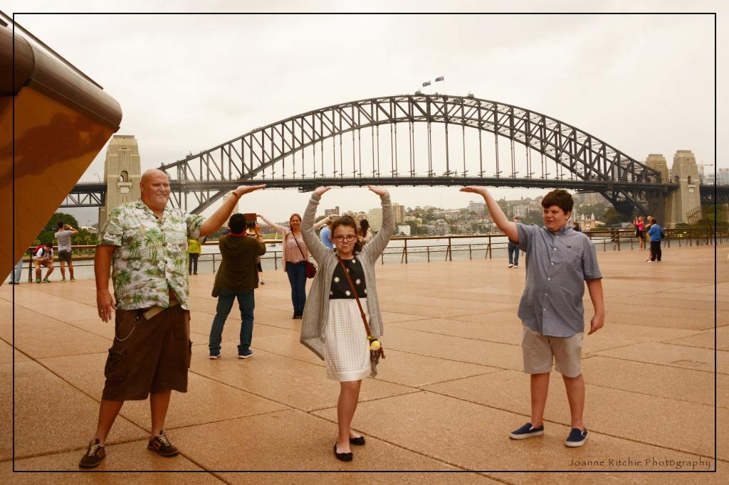 Sydney Harbor Bridge Workers