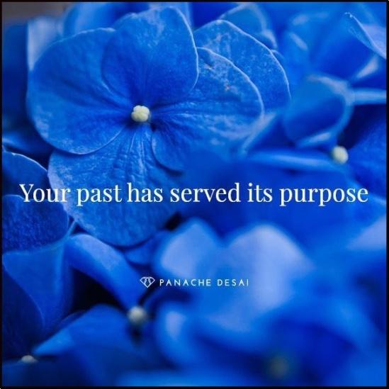 One's past...