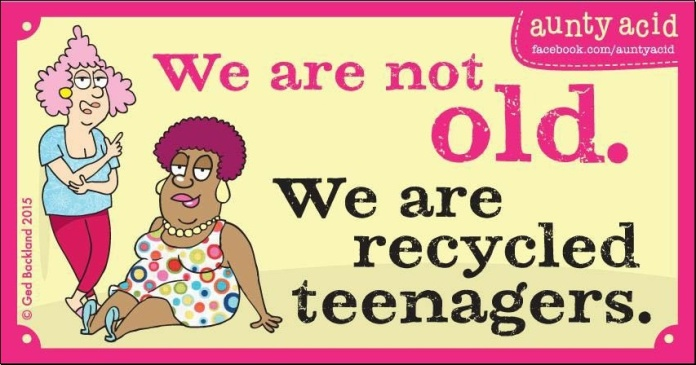Recycled Teenagers...