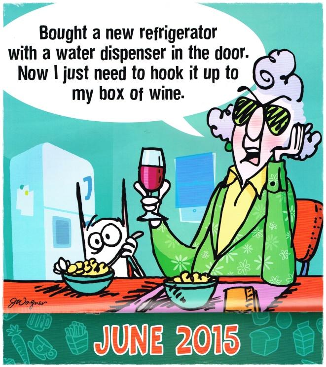 Maxine - Happy June 1st!