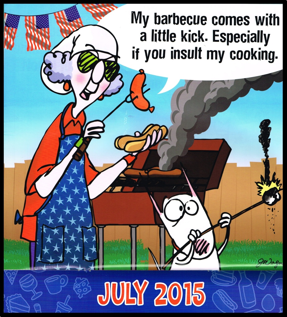 Maxine's Pinch and a Punch for July!