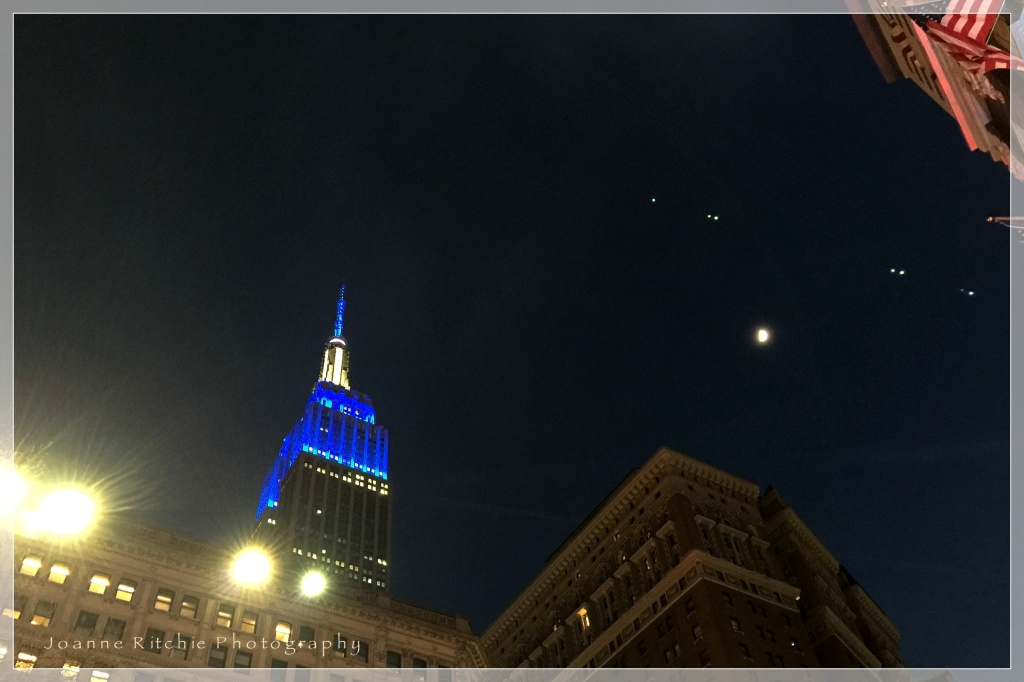 Night time in New York!